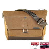 Peak Design Everyday Messenger Bag Heritage Tan Schultertasche Fototasche hellbraun