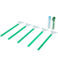 Dual Power Regular Strength 1.0x 24 mm - 5x Sensorreinigungs-Swabs (Green Series) und 2x 1,15 ml Flüssigkeit