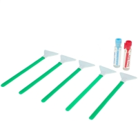Dual Power Extra Strength 1.0x 24mm - 5x Sensorreinigungs-Swabs (Green Series) und 2x 1,15 ml Flüssigkeit