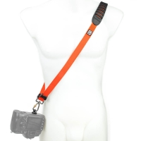 Blackrapid R-Strap Cross Shot Orange - puristischer Kameragurt mit stylischem Design - z.B. f�r DSLR-Kameras oder Systemkameras (orange)