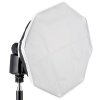 Octagonal Softbox Quenox FGA OB30S for shoe mount