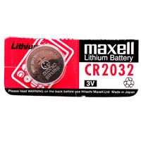 Maxell CR2032 Lithium Button Cell 3V