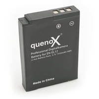 Quenox Battery Pack for Nikon Coolpix P310 P300 S630 S620 ENEL12
